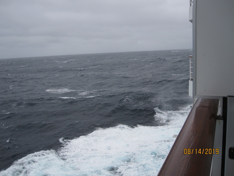 Second day at sea