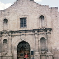 At the main Alamo gate 1970