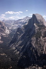Half Dome at Yosemite 1970