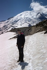 Snow-walking at Mt. Rainier 1770